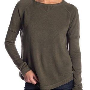 NWT- SWEET ROMEO Green Crewneck Sweater
